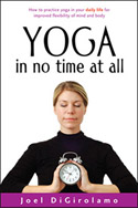 Yoga in No Time at All - book cover
